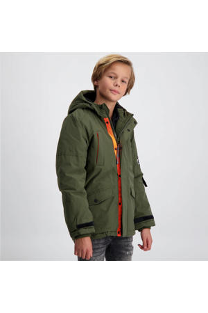 winter parka Storrow army groen