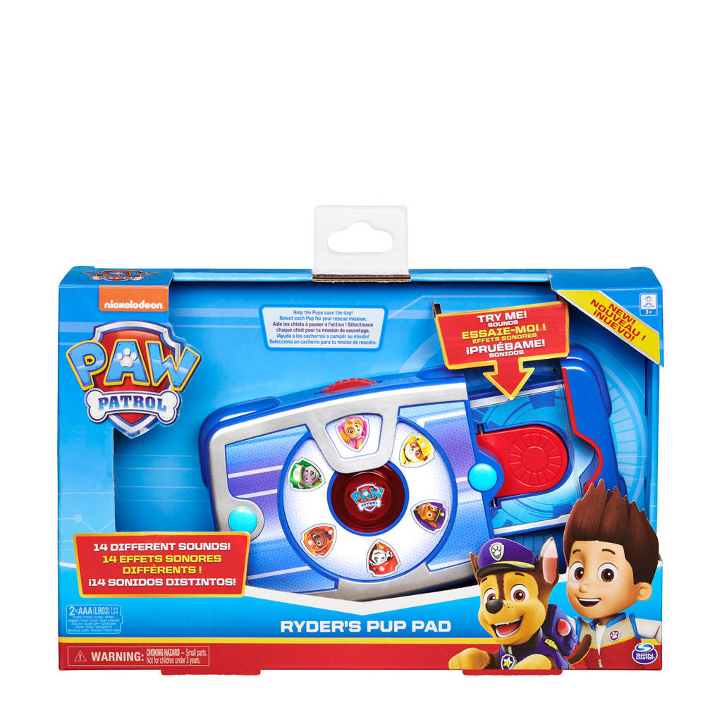 Paw Patrol Role Play - Ryder's Pup Pad