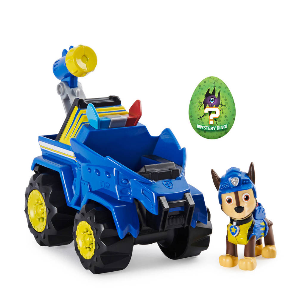 Paw Patrol  Dino Rescue - Deluxe Dino Themed Vehicle Chase
