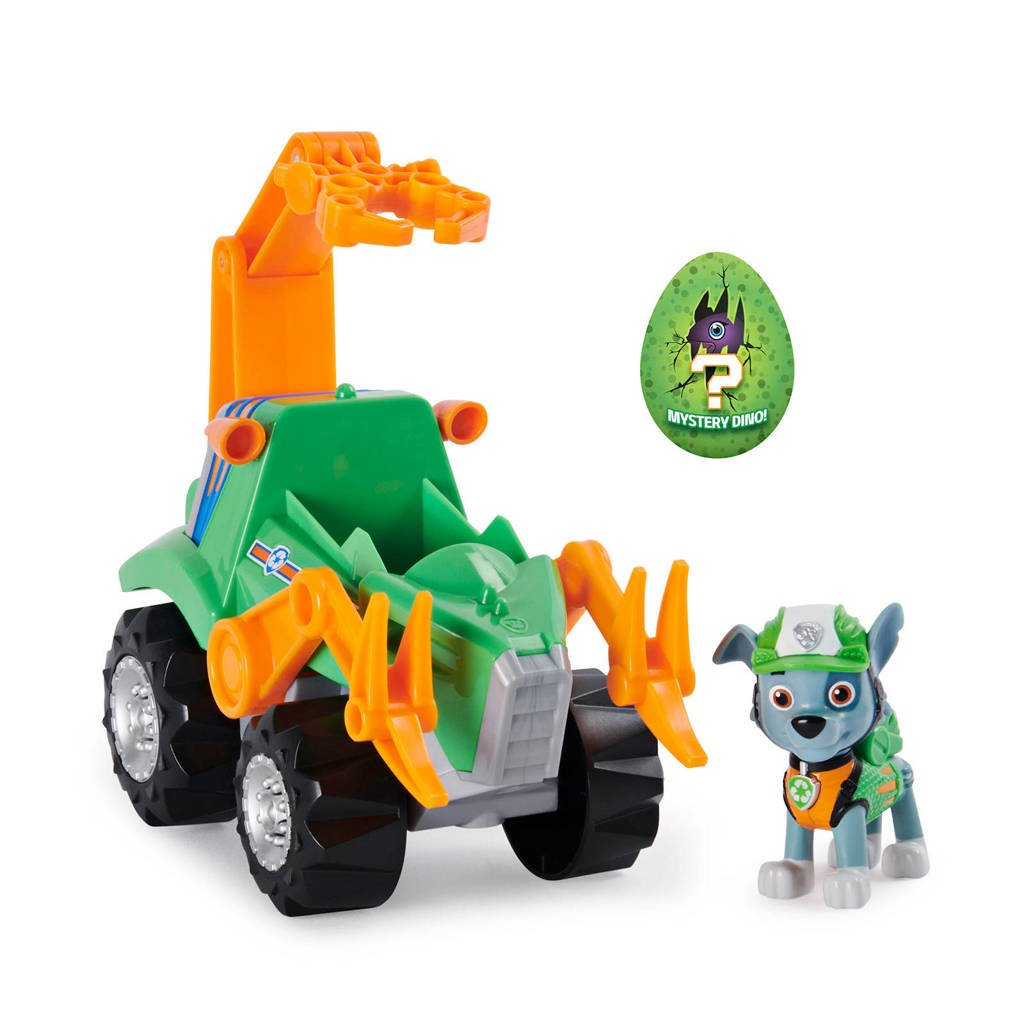 Paw Patrol  Dino Rescue - Deluxe Dino Themed Vehicle Rocky