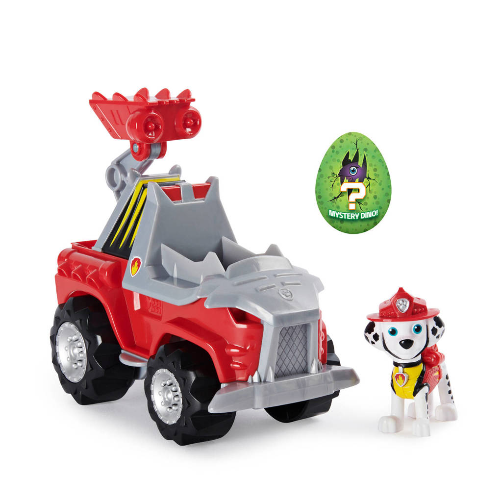 Paw Patrol  Dino Rescue - Deluxe Dino Themed Vehicle Marshall