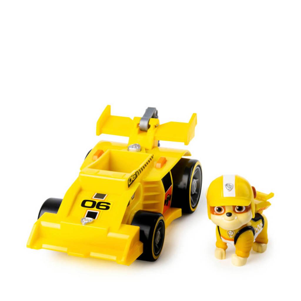 Paw Patrol  Ready Race Rescue - Themed Vehicle Rubble, Zwart, Geel