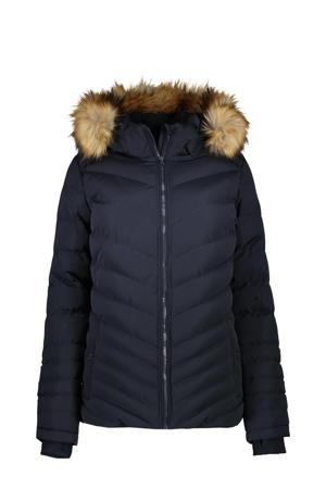 gewatteerde jas Coleta donkerblauw