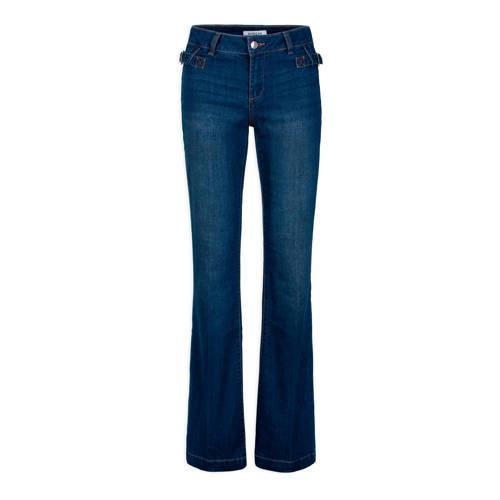 Morgan bootcut jeans stonewashed blue