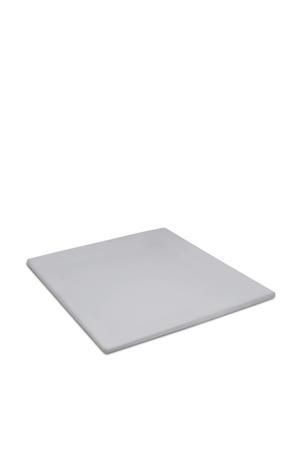 polyester topmatras hoeslaken Lichtgrijs