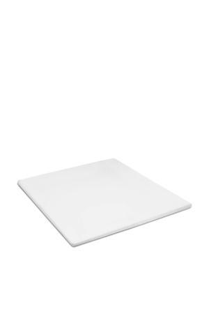 polyester topmatras hoeslaken Wit