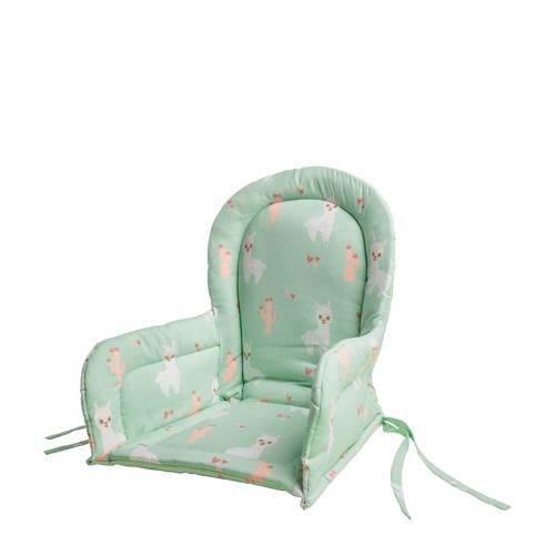 Briljant Baby stoelverkleiner lamaprint groen