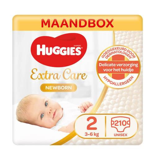 Wehkamp-Huggies Newborn luiers maat 2 (3-6 kg) 210 luiers-aanbieding