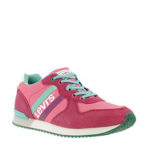 Levi's Kids Springfield  sneakers roze/groen