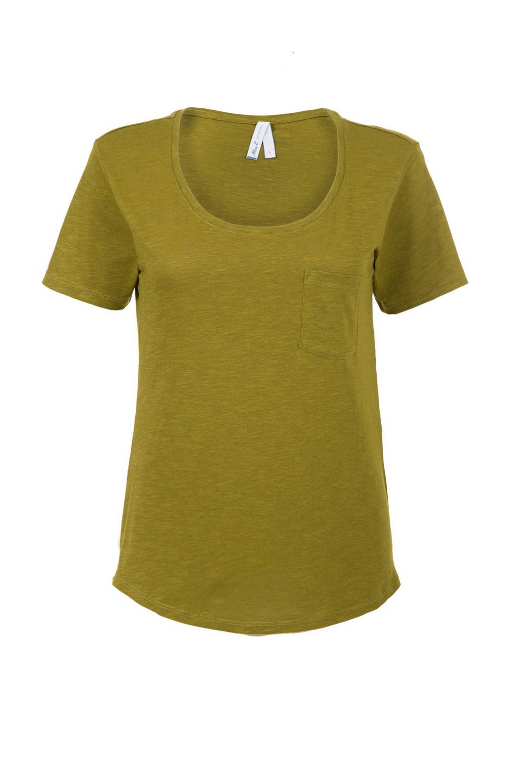 Miss Etam Regulier gemêleerd T-shirt groen, Groen