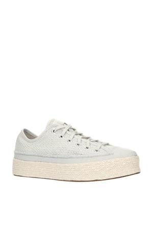 Summer Getaway Chuck Taylor All Star Espadrille  sneakers grijs/beige