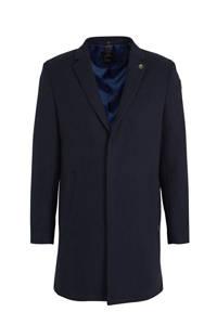 Vanguard jas met wol donkerblauw, Donkerblauw