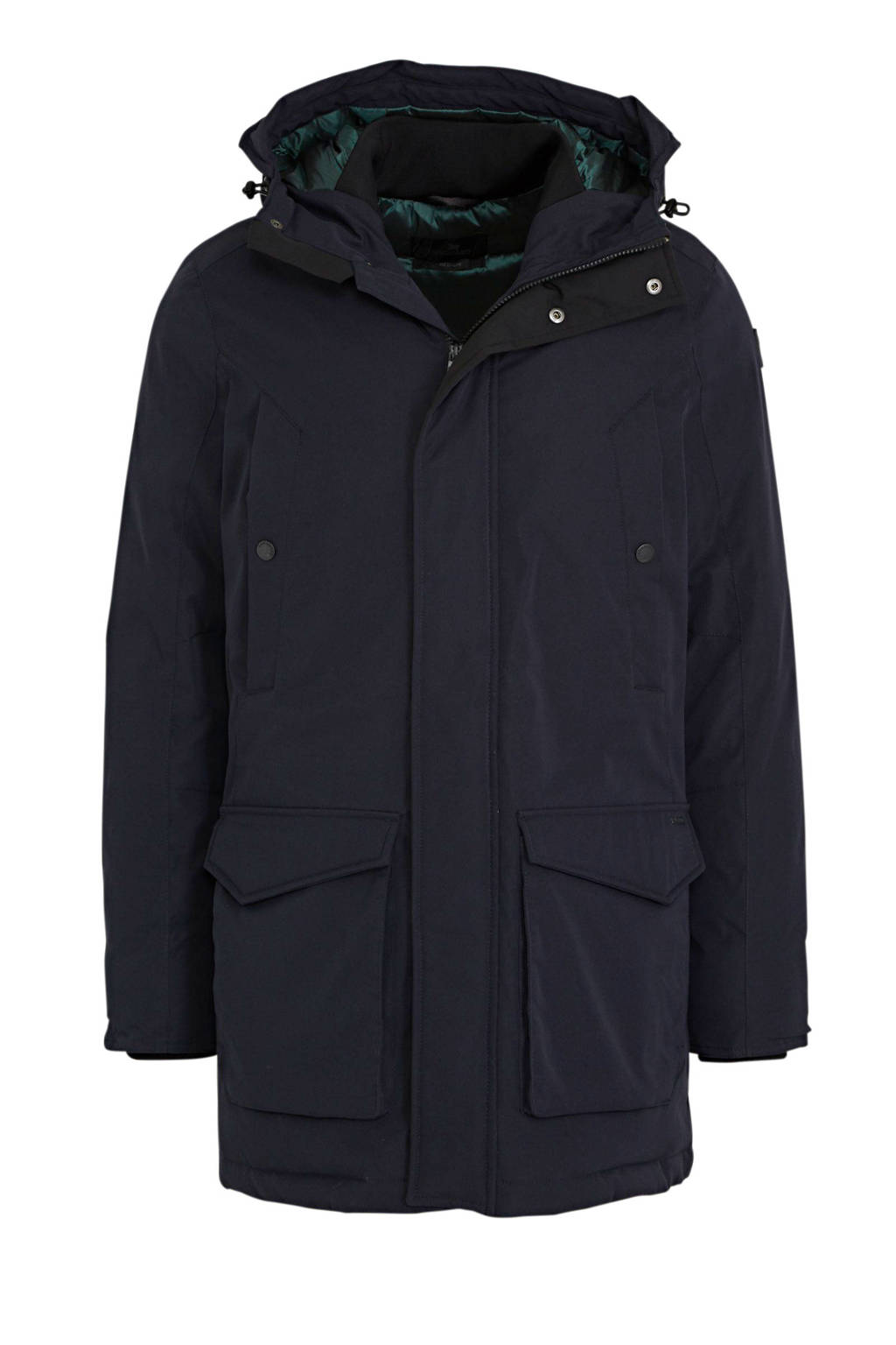 Vanguard parka winterjas donkerblauw, Donkerblauw