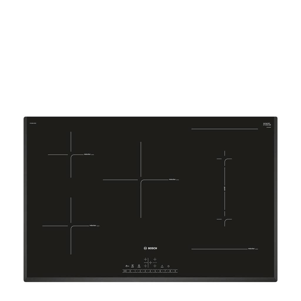 Bosch PVW851FB5E inductie kookplaat, Zwart