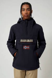 Napapijri anorak/winterjas Rainforest pocket winter 2 met logo donkerblauw, Donkerblauw