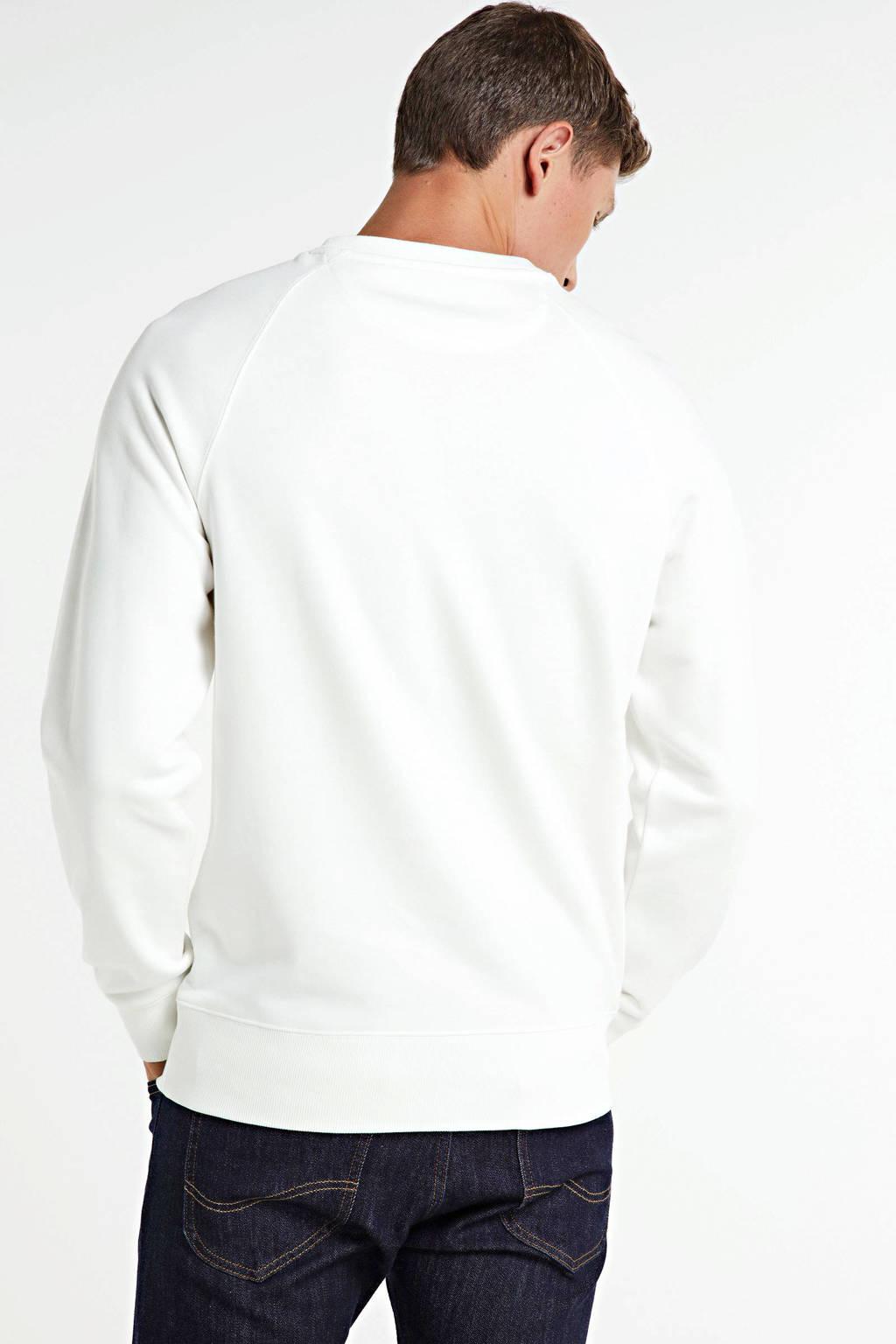 GANT sweater met logo ecru, Ecru