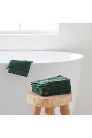 washand hotelkwaliteit (set van 6) (23.5x15.5 cm) Donkergroen