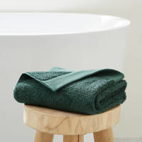 wehkamp home handdoek hotelkwaliteit (50 x 100 cm) Donkergroen
