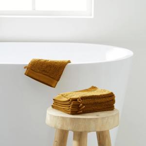 washand hotelkwaliteit (set van 6) (15x21 cm) Toffee