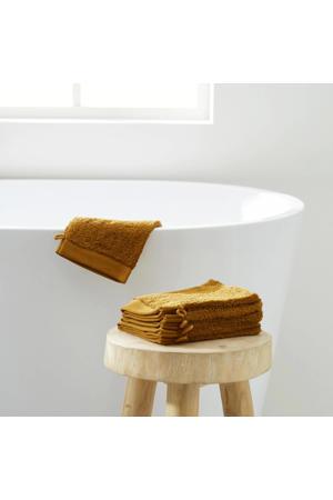 washand hotelkwaliteit (set van 6) (23.5x15.5 cm) Toffee