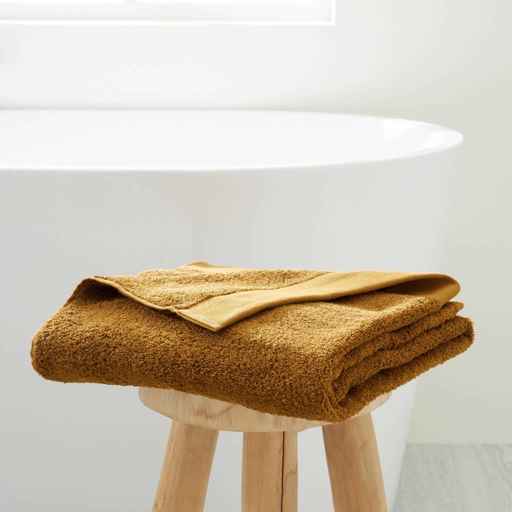 wehkamp home badlaken hotelkwaliteit (70 x 140 cm) Toffee