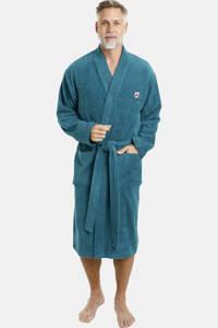 Jan Vanderstorm Plus Size badstof badjas JANNING groen, Groen