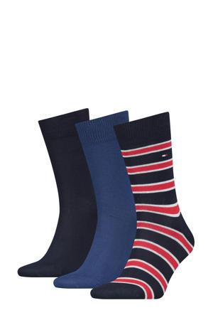 sokken Promo set van drie paar blauw