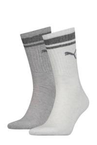 Puma sokken - set van 2 grijs/wit, Lichtgrijs