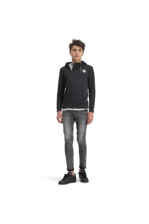 hoodie Nani met logo zwart