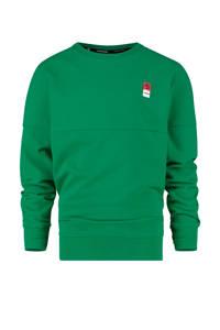 Vingino Essentials sweater groen, Groen