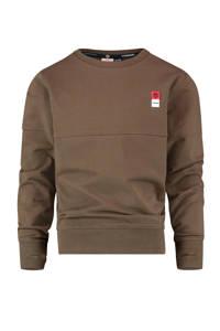 Vingino Essentials sweater met biologisch katoen army groen, Army groen