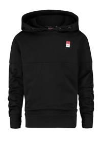 Vingino Essentials hoodie met biologisch katoen zwart, Zwart