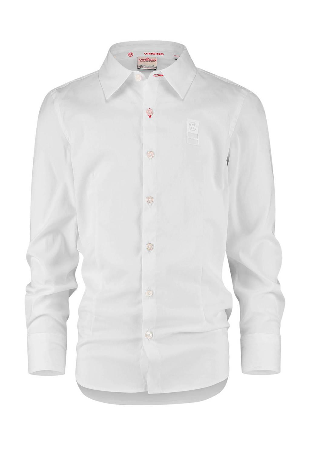 Vingino Essentials overhemd wit, Wit