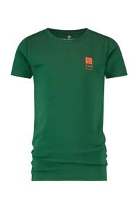 Vingino Essentials T-shirt met biologisch katoen donkergroen, Donkergroen