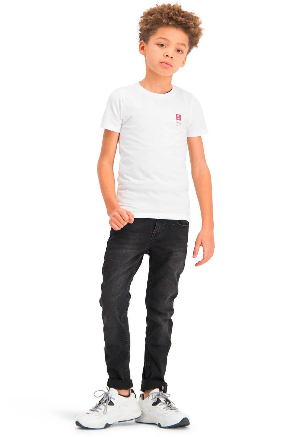Vingino Essentials T-shirt met biologisch katoen wit, Wit