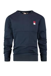 Vingino Essentials sweater met biologisch katoen donkerblauw, Donkerblauw
