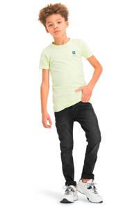 Vingino Essentials T-shirt met biologisch katoen lichtgeel, Lichtgeel