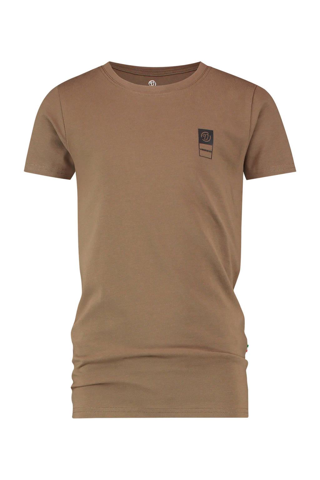 Vingino Essentials T-shirt met biologisch katoen army groen, Army groen