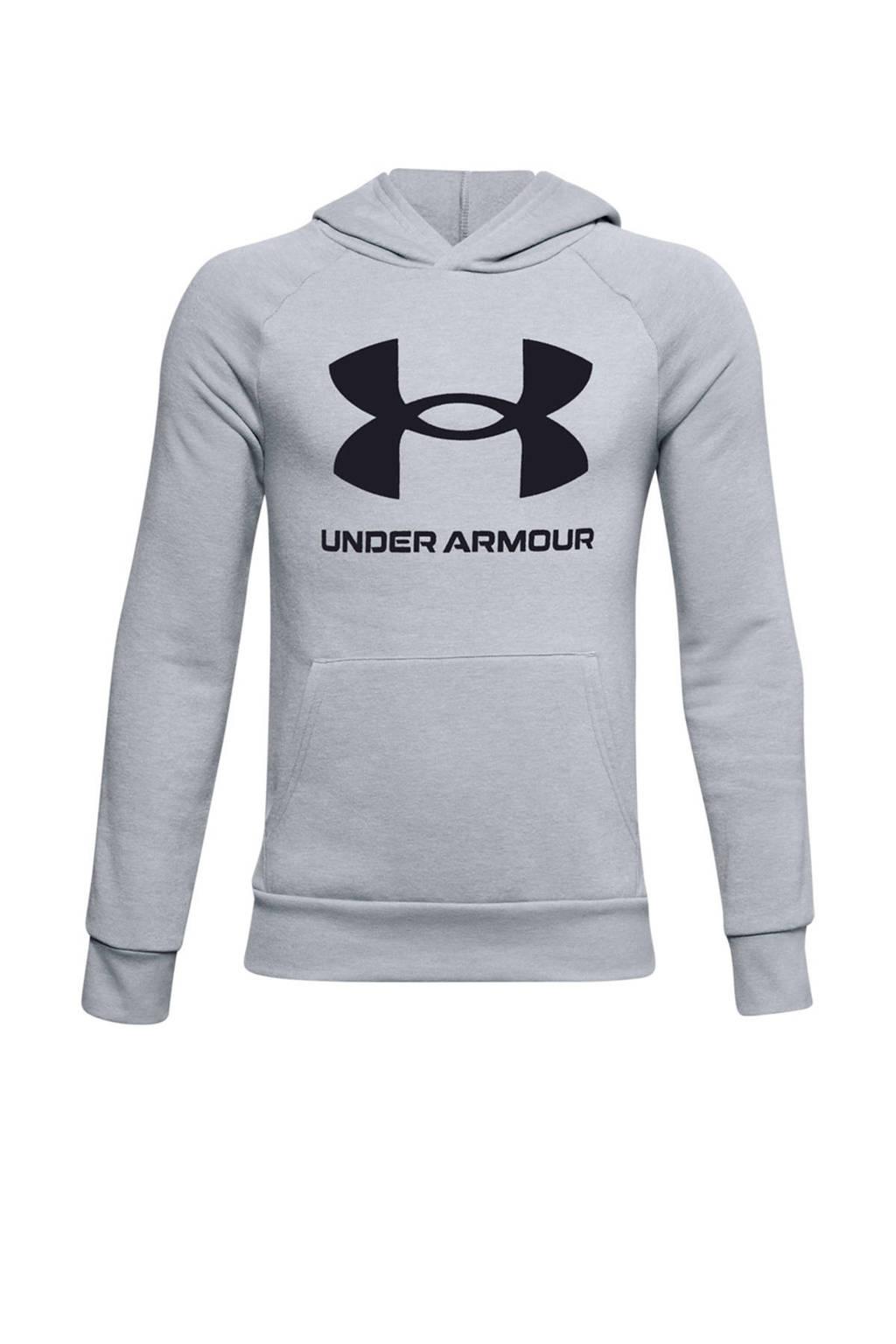 Under Armour   sport hoodie grijs, Grijs