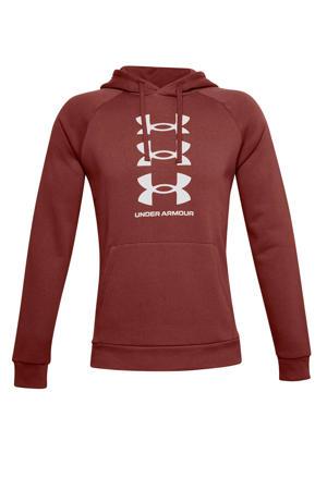 sport hoodie bruin