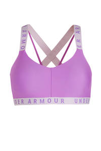 Under Armour level 1 sportbh paars, Paars