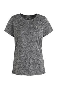 Under Armour sport T-shirt antraciet melange, Antraciet melange