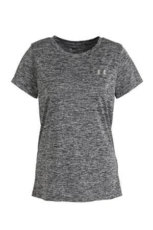 sport T-shirt antraciet melange