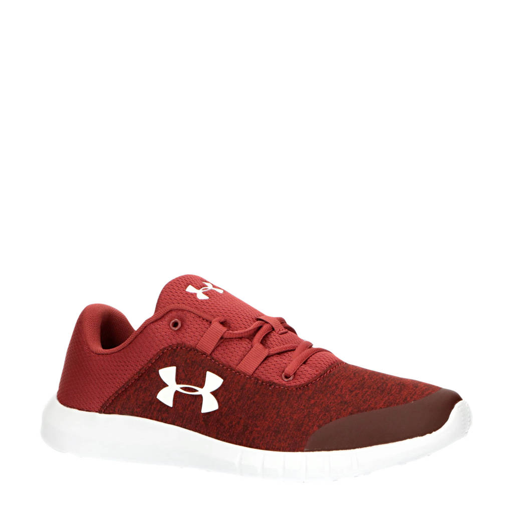 Under Armour  Mojo UA Mojo hardloopschoenen rood/wit, Rood/wit