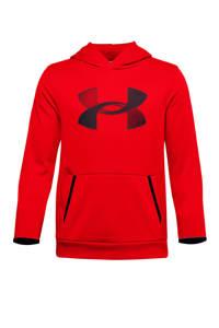 Under Armour   sport hoodie rood, Rood