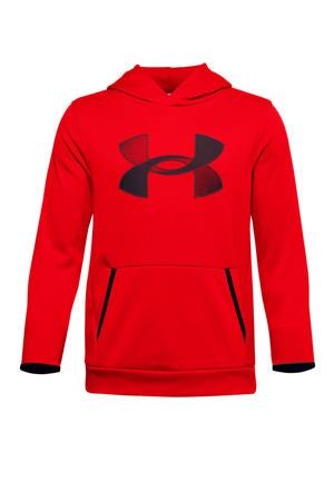 sport hoodie rood