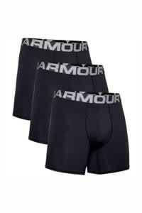Under Armour sportboxers  zwart (set van 3), Zwart