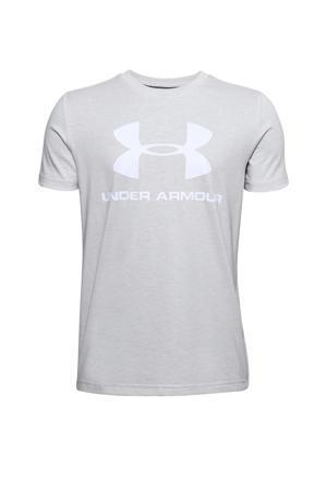 sport T-shirt lichtgrijs
