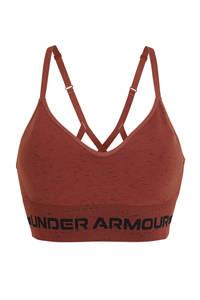 Under Armour level 1 sportbh bruin, Bruin