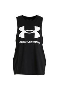Under Armour sporttop zwart, Zwart